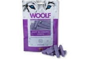 WOOLF pochoutka soft Blueberry strips 100g (borůvka)