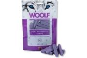 WOOLF pochoutka soft Blueberry strips 100g (borůvka)