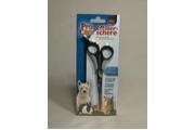 Nůžky efilační jednostranné pro psy/kočky 18cm TR