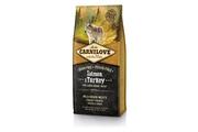 Carnilove Dog Salmon & Turkey for LB Adult - plemena nad 25kg