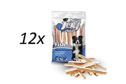 12x Calibra Joy Dog Classic Fish&Chicken Sandwich 80g NEW