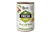 Brit Fresh Dog konz Duck with Millet