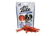 "Brit Let""s Bite Meat Snacks Duck Stripes 80g"