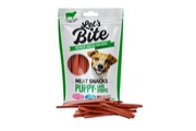 "Brit Let""s Bite Meat Snacks Puppy Lamb Stripes 80g"