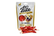 "Brit Let""s Bite Chewbones Sticks & Duck 300g"