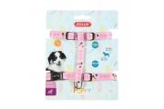 Postroj pes štěně MASCOTTE růžový 8mm