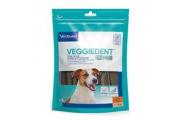 C.E.T.pes Žvýkací plátky Veggiedent NEW S 15ks