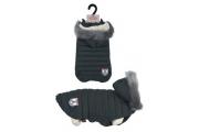 Obleček prošívaná bunda pro psy URBAN černá