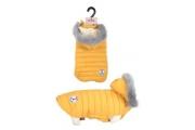 Obleček prošívaná bunda pro psy URBAN žlutá