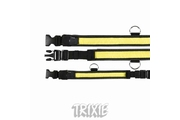Obojek blikací nylon žluto/černý 40-55/35mm TR
