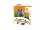 Antiparazitární obojek Attack 35cm kočka